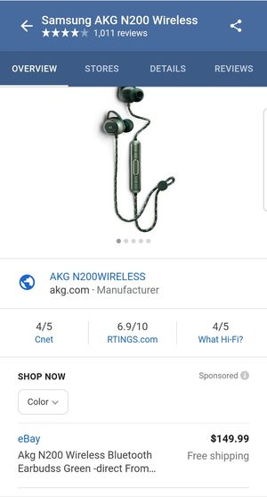 AKGN200 Wireless bluetooth for Sale in Chicago, IL