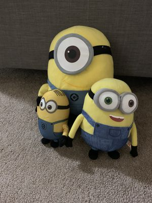Minion plushies for Sale in Annandale, VA
