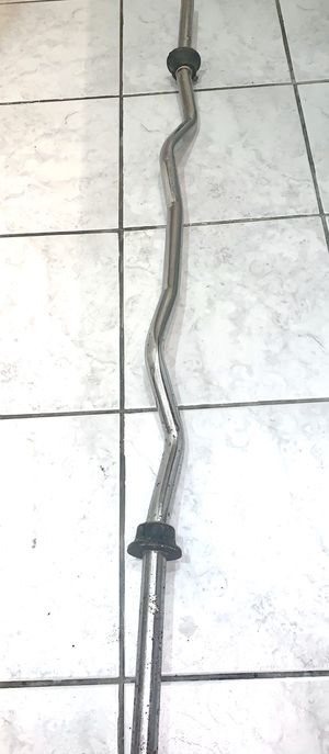 Solid Olimpic Curl Bar $25 for Sale in Norwalk, CT
