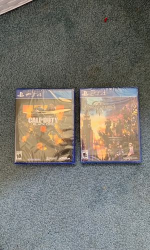 Black Ops 4 and Kingdom Hearts PS4 (Brand New) for Sale in Davis, CA