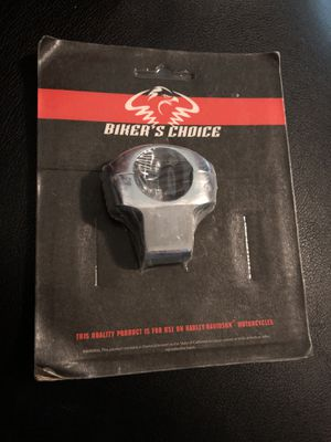 Biker's Choice Chrome Custom Mirror Clamp For Harley Davidson Motorcycle for Sale in Aurora, CO