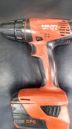 Hilti SFC-22-A Cordless Drill Driver W/ One Battery Tool for Sale in The Bronx,  NY