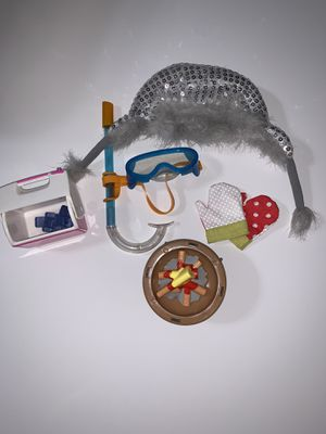 """random 18"""" doll accessories for Sale in Midland, TX"""