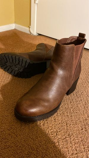 Brown Ankle Boots 8 1/2 for Sale in Moreno Valley, CA