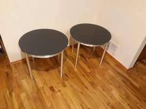 TWO ROUND GLASS TABLE TOP FOR SALE for Sale in Bellevue, WA