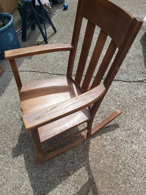 Antique wooden rocking chair for Sale in Vancouver, WA