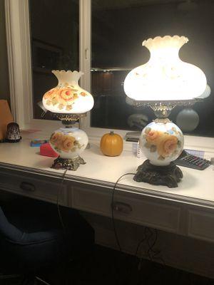 Vintage hurricane lamps for Sale in Redlands, CA