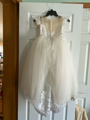 Both size 6 300.00 for flower girl white dress and 20 for floral print for Sale in Cumberland, RI