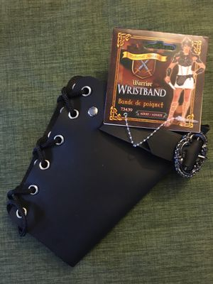 Warrior wristband / wrist cuff for Sale in Barberton, OH