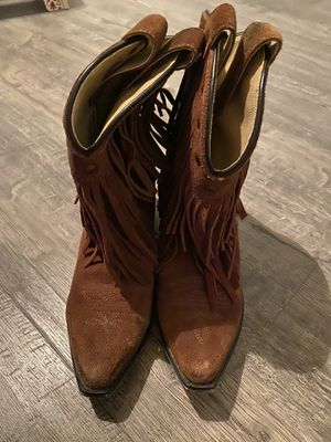 Fringe Boots - Size 3👢 for Sale in Humble, TX