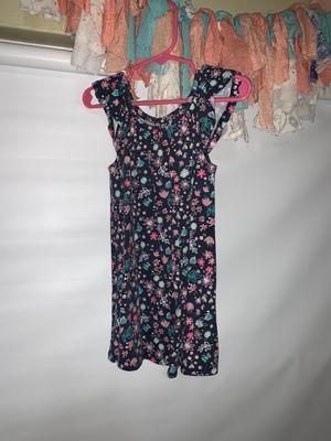 Toddler Girls Navy Blue Flower Dress for Sale in Spring Valley, CA