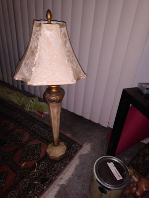 Italian marble style table lamp for Sale in Alexandria, VA