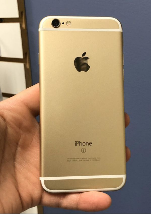 "iPhone 6S 64GB FACTORY UNLOCKED"" Like new with warranty"