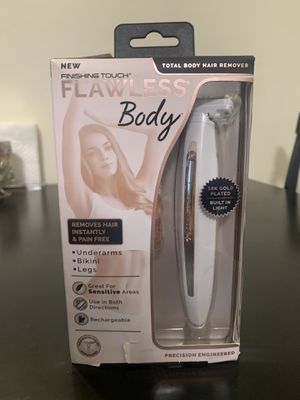 Flawless women's body hair remover shaver for Sale in Rancho Cucamonga, CA