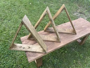 Triangle wall or table shelves for Sale in Columbus, OH