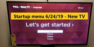 """TV- TCL 40"""" LED 1080p Smart HDTV Roku TV for Sale in Dallas, TX"""