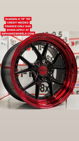 """18"""" F1R wheels ( No Credit Check Finance Available Only $40 Down ) for Sale in Greenwich, CT"""
