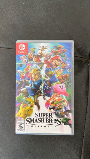 Super Smash Bros Nintendo Switch for Sale in Southwest Ranches, FL