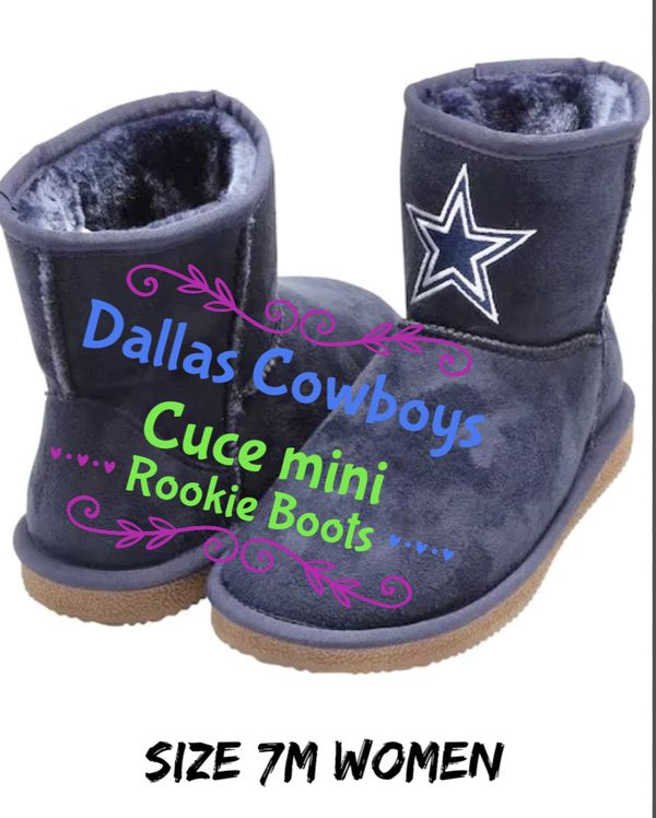 374854c37 Team NFL DALLAS COWBOYS- NAVY CUCE MINI ROOKIE BOOTS for Sale in MD ...