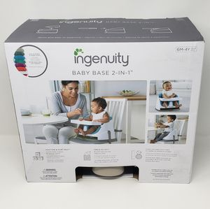 Ingenuity Baby Base 2 in 1 for Sale in Powder Springs, GA