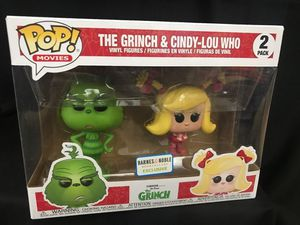 Funko Pop The grinch and Cindy Lou for Sale in San Diego, CA