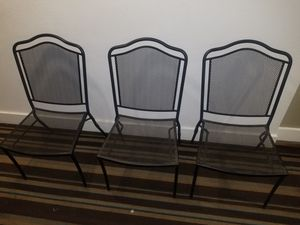 Plantation Prestige Commercial Furniture Company Steel Patio Dining Chairs for Sale in Dallas, TX
