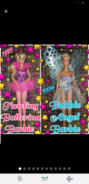 Barbie Doll Bundle, 2 for Sale in Doubs, MD