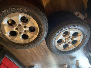25570r18. (4) tires barely new Bridgestone for Sale in Baton Rouge, LA