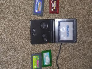 GBA SP with games for Sale in Collinsville, IL