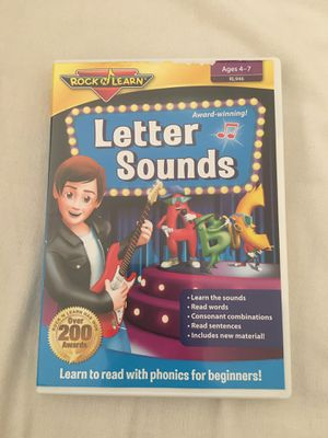 Letter sound DVD for Sale in Arlington, VA