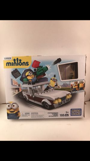 Minions mega bloks kids toy game for Sale in Chagrin Falls, OH