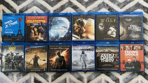 Used Blu-ray Movies $5 Each Perfect Condition for Sale in Covina, CA