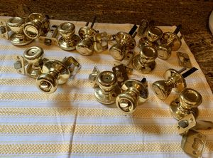 Door Knobs - Brass/Gold Finish for Sale in Manchester Township, NJ
