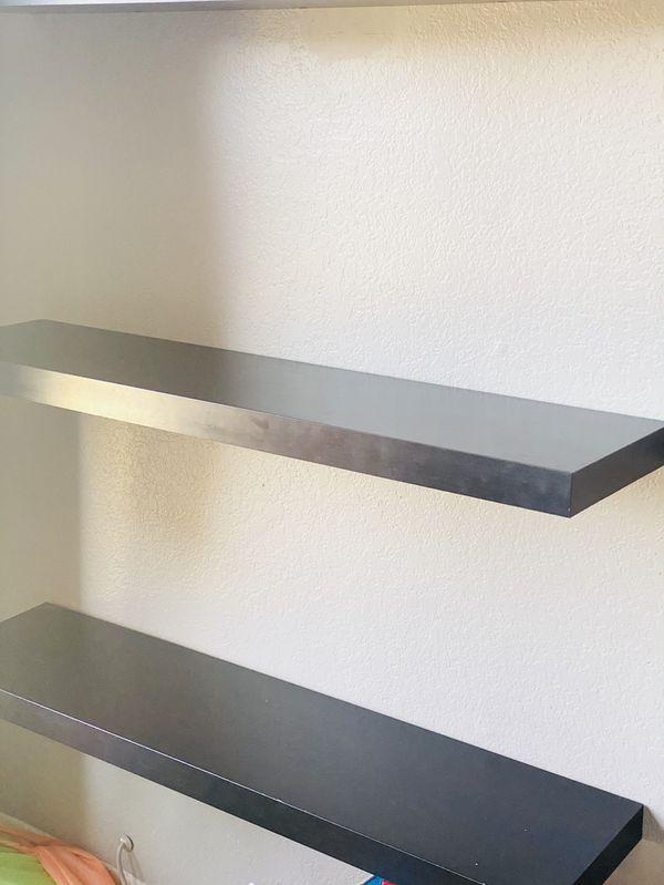 Three Bookshelves (dark Brown)