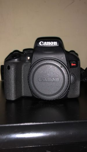 Canon T7i rebel for Sale in Long Beach, CA