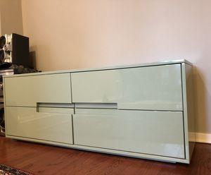CB2 Latitude low dresser (rare mint/pistachio color) for Sale in Chicago, IL
