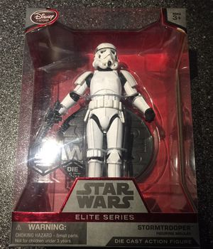 Stormtrooper elite 6 inch action figure die cast metal Star Wars collectible for Sale in Queens, NY