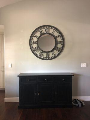 Decorative metal Clock Mirror for Sale in Rossmoor, CA