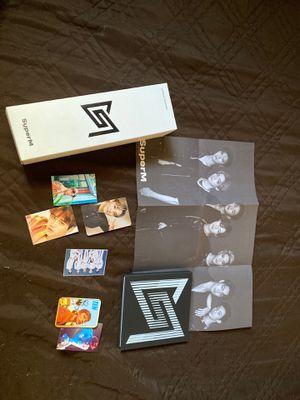 SUPER M Album + Lightstick for Sale in Fresno, CA