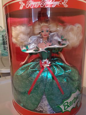 1995 Special Edition holiday Barbie,Doll stand included for Sale in Oregon City, OR