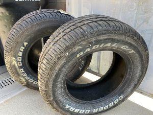 Tire cooper cobra 2 tires 245/60r15 for Sale in Norwalk, CA