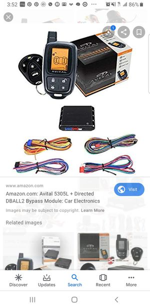 2way Remote Start Alarm for Sale in Upper Marlboro, MD