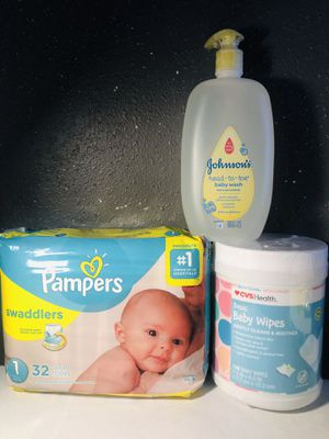 Pampers size 1 for Sale in Houston, TX