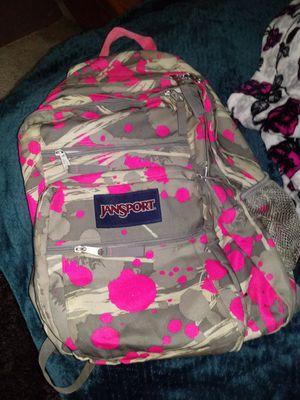 grey/pink jansport backpack for Sale in Beaverton, OR