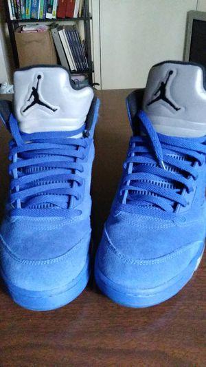 "Air Jordan 5 Retro ""Blue Suede"" Size 9 Men for Sale in Stone Mountain, GA"