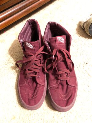 Vans maroon for Sale in Corpus Christi, TX