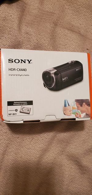 Brand new Sony Camcorder video recorder CX440 for Sale in Germantown, TN