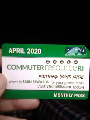 35 April monthly bus pass for Sale in Providence, RI