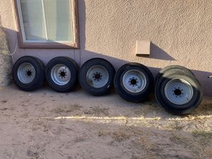 18 ply tires with 17.5 rims for Sale in El Paso, TX