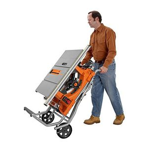 Rigid Ridgid R4510 Heavy-Duty Portable Table Saw Features Ridgid R4510 Heavy-Duty Portable Table Saw Features for Sale in Platte City, MO